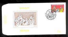 FDC - Sammy / Berck- B.D. -  Timbre N° 2619 - Tampon Bruxelles - FDC