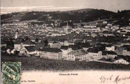 CPA - CHAUX-DE-FONDS - Vue De La VILLE ... - NE Neuchâtel