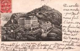 CPA - RIGI STAFFEL - HOTEL (carte Illustrée)  ... - LU Lucerne