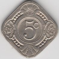 @Y@    Nederlandse Antillen   5  Cent  1962 ( 4636 ) - Antilles Neérlandaises