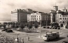 CPSM - SANTANDER - PLAZA Alphonso XIII (Tramway) - Edition G.Garrabella - Cantabria (Santander)