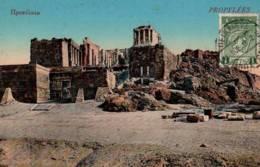 CPA - ATHENES - PROPYLEES ... - Grèce