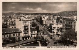 CPA - SALONIQUE - VUE DE LA TOUR BLANCHE ... - Greece