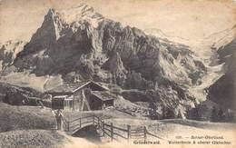 Zwitserland Berne Grindelwald Wetterhorn Oberer Gletscher  Berner Oberland   Barry 5060 - BE Berne