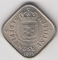 @Y@    Nederlandse Antillen   5  Cent  1971 ( 4641 ) - Antilles Neérlandaises