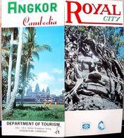 ASIE CAMBODGE CAMBODIA  ROYAL ANGKOR  DESCRIPTION DE ANGKOR VERS 1960 - Tourism
