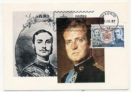 ESPAGNE - Carte Maximum - Cent Del Guerpo De Abogabos Del Estado - 1981 - Tarjetas Máxima