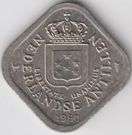 @Y@    Nederlandse Antillen   5  Cent  1980 ( 4648 ) - Antilles Neérlandaises