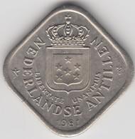 @Y@    Nederlandse Antillen   5  Cent  1981 ( 4649 ) - Antilles Neérlandaises