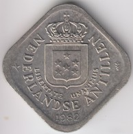 @Y@    Nederlandse Antillen   5  Cent  1982 ( 4650 ) - Antilles Neérlandaises