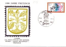 JAG PHILATELIE DES KINDER HEIMES ADOLF REICHWEIN PRETZSCH   COVER   (GENN201447) - Esposizioni Filateliche