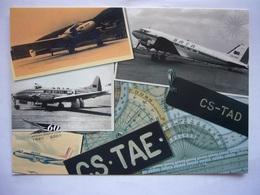 Avion / Airplane / SATA / Beechcraft - Dove - DC-3 - AvroHS / Airline Issue - 1946-....: Modern Era