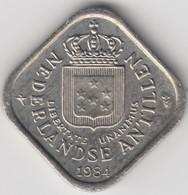 @Y@    Nederlandse Antillen   5  Cent  1984 ( 4652 ) - Antilles Neérlandaises