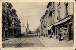 Cp Nancy Meurthe Et Moselle, La Rue Du Montet - Frankrijk
