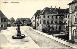 Cp Haguenau Hagenau Im Elsass Bas Rhin, Paradeplatz - France