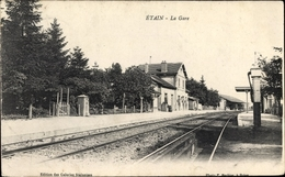 Cp Etain Meuse, La Gare - Francia