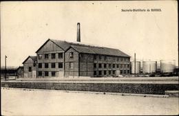 Cp Roisel Somme, Sucrerie Distillerie - France