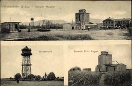 Cp Wittenheim Haut Rhin, Schacht Theodor, Wasserturm, Schacht Prince Eugen - Otros Municipios