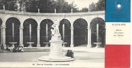 78- Versailles- Parc-Les Colonnades- 14 Juillet 1915-Oeuvre D'Assistance Aux Mutilés-verso:Comité Franco-Belge . - Versailles