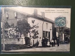 QUATRE-CHAMPS- Villa Des Saints- Dupuy,constructeur Agricole, Entrepreneur De Battages. - France