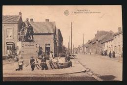 FRAMERIES  MONUMENT ALFRED DE FUISSEAUX - Frameries