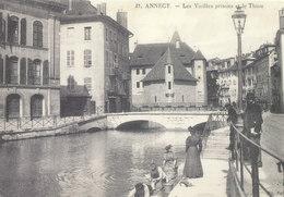 Haute Savoie , Annecy ,les Vieilles Prisons Et Le Thiou - Annecy