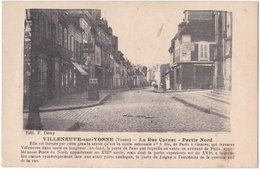 89. VILLENEUVE-SUR-YONNE. La Rue Carnot. Partie Nord - Villeneuve-sur-Yonne