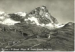 "Cervinia Breuil (Aosta) Grande Albergo ""Monte Cervino-Giomein"" Panorama, Vue Generale - Aosta"