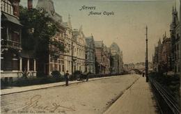 Antwerpen - Anvers / Avenue Cogels (kleur) Ca 1900 Uitg. Dr. Trenkler / Zeldzaam - Antwerpen