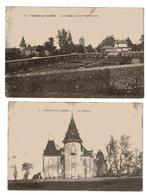 CRESSY SUR SOMME LE CHATEAU ET SES DEPENDANCES 1915 - France