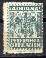 Fiscal De Aduana Perfurmeria Circulacion. - Fiscales