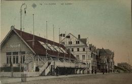 De - La Panne // Le Casino (kleur) Exposition Des Beaux Arts 19?? SBp No. 14 Zeldzaam - De Panne