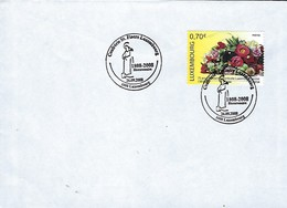 Luxembourg  -  FDC  -  18.8.2008  -  Confrérie St. Fiacre Luxbg - FDC