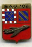 Insigne Base Aérienne Opérationnelle, BAO 102, MYSTÈRE IV___drago - Armée De L'air