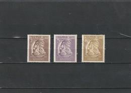 1951 MNH Mint Never Hinged Sc. 468-470, Yv. 436-438, Mi. 503-505                105 - Albania