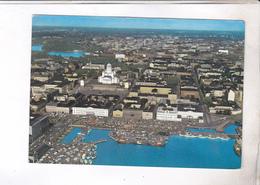 CPM HELSINKI, VIEW OVER MARKET PLACE   (voir Timbres) - Finlande