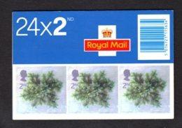 GRANDE-BRETAGNE 2002 - Carnet YT C2379 - SG LX24- NEUF** MNH - Noël 2002 - Carnets