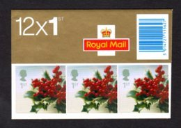 GRANDE-BRETAGNE 2002 - Carnet YT C2380 - SG LX23- NEUF** MNH - Noël 2002 - Carnets