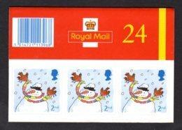 GRANDE-BRETAGNE 2001 - Carnet YT C2284 - SG LX22 - NEUF** MNH - Noël 2001 - Carnets
