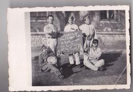 CHALON SUR SAONE  PHOTO  9 X 6 MILITAIRES DU 134 EME REGIMENT D'INFANTERIE SOUVENIR 23 NOV 1936 - Guerre, Militaire
