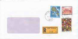 Austria Registered Cover With Topic Stamps Salzburg 23-7-1993 - 1945-.... 2ème République