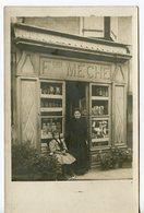 1875. CPA PHOTO A LOCALISER. Fçois MECHE - Shops
