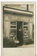 1875. CPA PHOTO A LOCALISER. Fçois MECHE - Geschäfte
