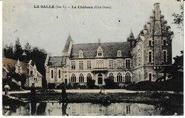 Saône Et Loire LA SALLE Le Château (côté Ouest) (petite Animation) - Frankreich