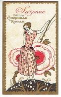 Carte Parfum - SUZONNE De LA CORBEILLE ROYALE - Maison Emile CHARLES Mercerie à JEMEPPE-S/SAMBRE - Cartes Parfumées