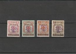 1919 MH Mint Hinged Sc.Due  J10-J13, Yv. Taxe 10-13, Mi. Porto 10-13                 155 - Albania