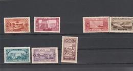 Liban Yvert 53 + 54 + 56 + 57 + 58 + 60 + 61 ** Sans Charnière  - 1925 - Grand Liban (1924-1945)