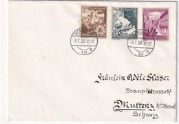 ALLEMAGNE 1939 LETTRE DE BERLIN POUR MUTTENZ - Germany
