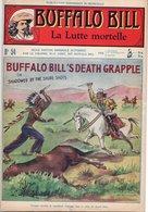 EO BUFFALO BILL N* 54 - LA LUTTE MORTELLE -  LE HEROS DU FAR-WEST -  EDITION ATLAS. - Aventure