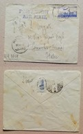 Busta Di Lettera Per Via Aerea Da Beirut A Comacchio (Italia) - 29/07/1952 - Libano